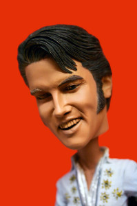 Elvis Bobblehead. Available at a flea market near you.